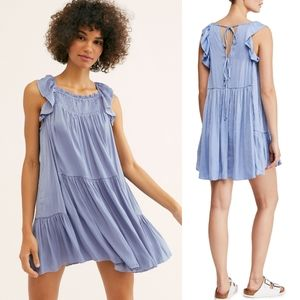 NWT Free People Want Your Love Mini Dress